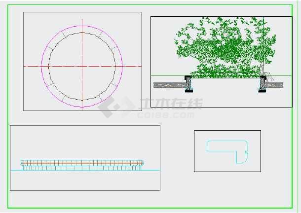 点击查看[重庆]居住区组团绿地园林景观工程施工图第1张大图