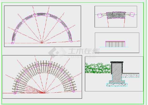 点击查看[重庆]居住区组团绿地园林景观工程施工图第2张大图