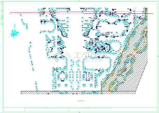 [绍兴]居住区园林绿化工程施工图-图二