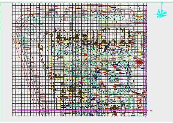 [绍兴]居住区园林绿化工程施工图-图2