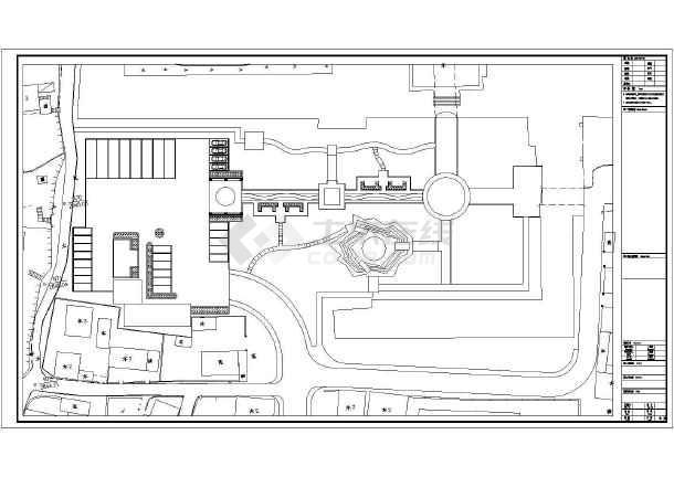 点击查看城市遗址公园园林景观工程施工图第2张大图
