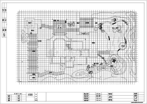 点击查看[安徽]独栋别墅庭院园林景观工程施工图第1张大图