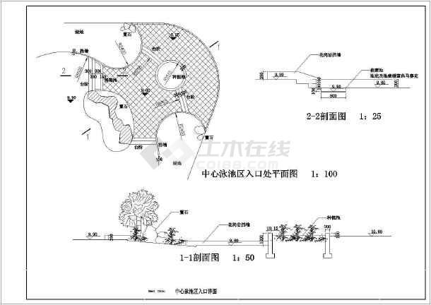 点击查看[珠海]亚热带风情主题花园园林景观工程施工图第1张大图