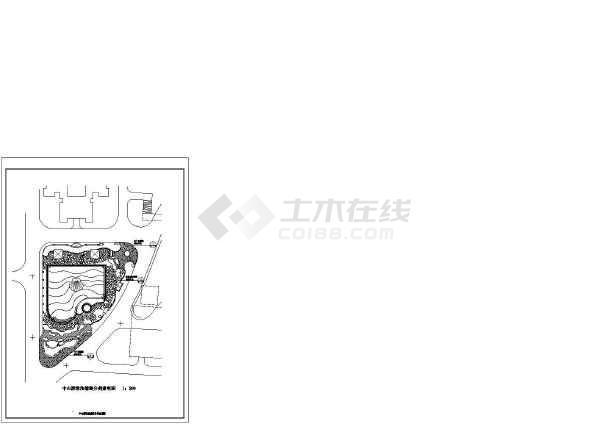 [珠海]亚热带风情主题花园园林景观工程施工图-图2