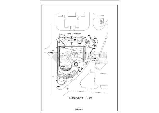 [珠海]亚热带风情主题花园园林景观工程施工图-图3