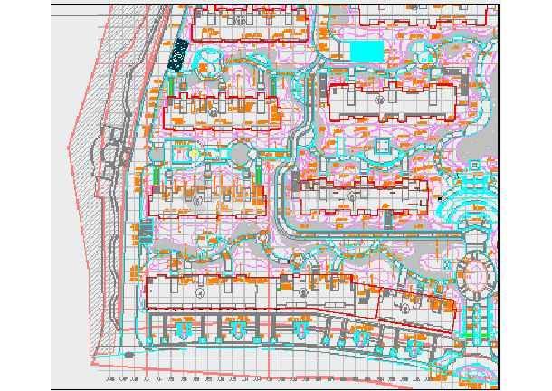 [杭州]小区园林植物配置设计施工图-图2