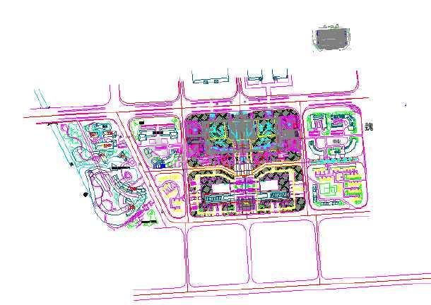 [河南许昌]城市公园园林植物配置设计施工图-图1