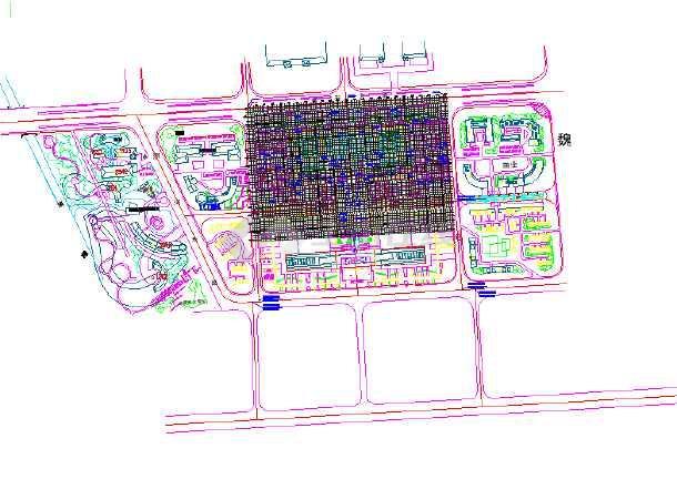 点击查看[河南许昌]城市公园园林植物配置设计施工图第1张大图
