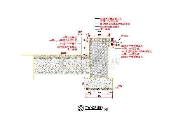[河南许昌]城市公园园林植物配置设计施工图-图2