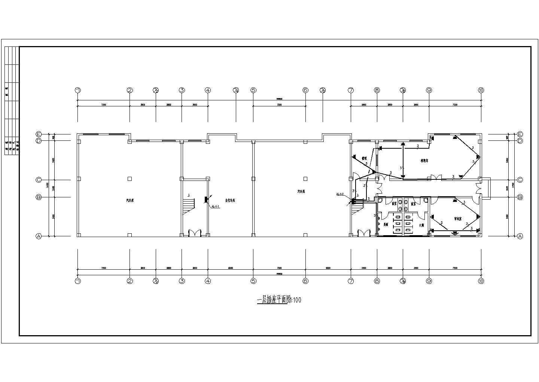 某地上六层办公楼电气施工图纸(三级负荷,29张图纸)图片1