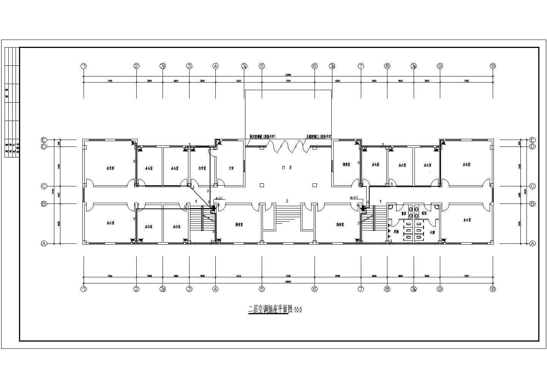 某地上六层办公楼电气施工图纸(三级负荷,29张图纸)图片3