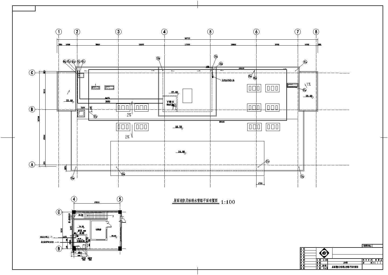 [上海]五层办公楼建筑给排水图纸图片2