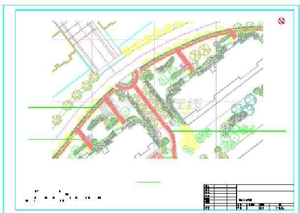 点击查看[长春]居住区二期园林景观设计施工图(全套)第1张大图