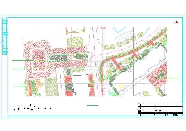 点击查看[长春]居住区二期园林景观设计施工图(全套)第2张大图