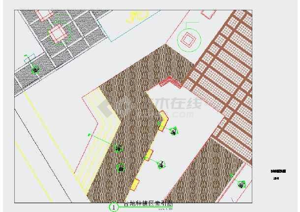 【江西】生态公园园林景观绿化设计施工图-图2