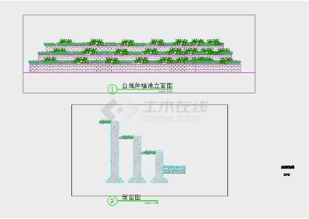 【江西】生态公园园林景观绿化设计施工图-图1