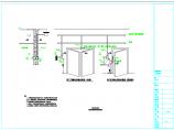 可视对讲系统及门禁系统安装大样图图片2