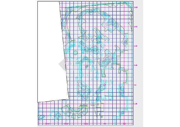 点击查看[成都]某小区园林工程植物种植设计施工图第2张大图