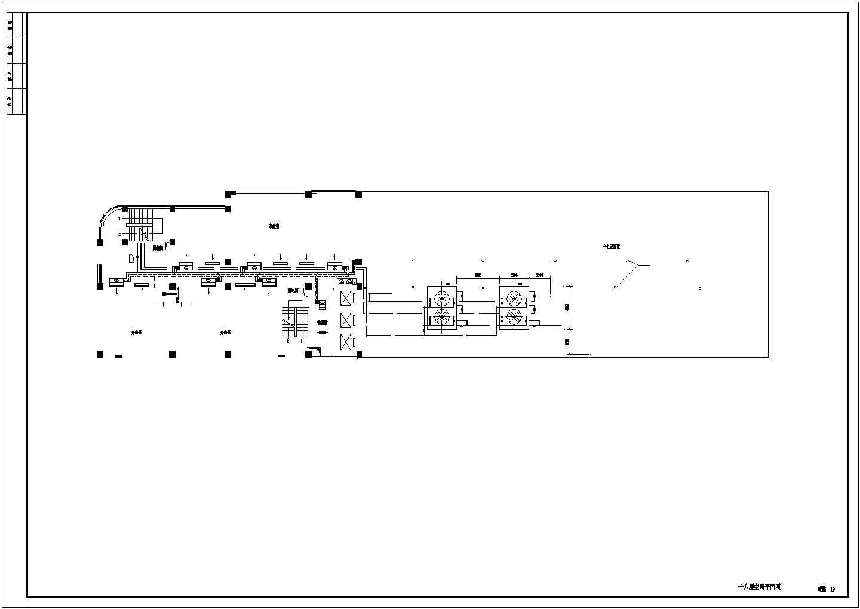 某23398�O二十层广场综合办公楼空调通风图图片1