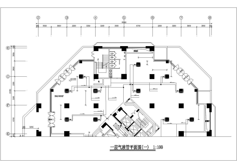 青岛某51941�O三十一层综合楼暖通空调全套图图片1