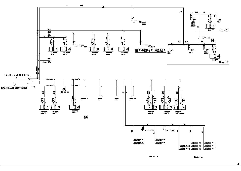 深圳某半导体洁净厂房空调图纸(含设计说明)图片2