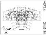 某地上三十四层住宅小区给排水图纸(地下一层)图片3