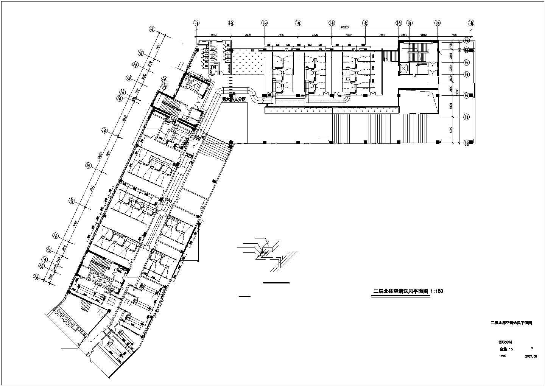 某47008�O九层综合办公楼空调通风图纸图片1