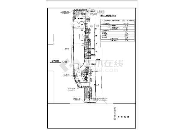 五星级酒店屋顶花园园林景观工程施工图-图2