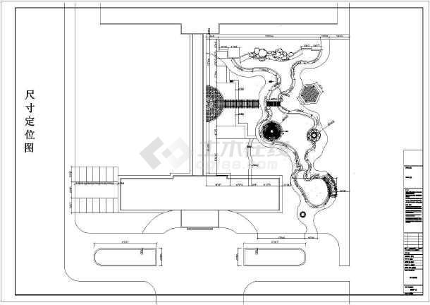 点击查看山西某医院全套园林景观施工图第1张大图