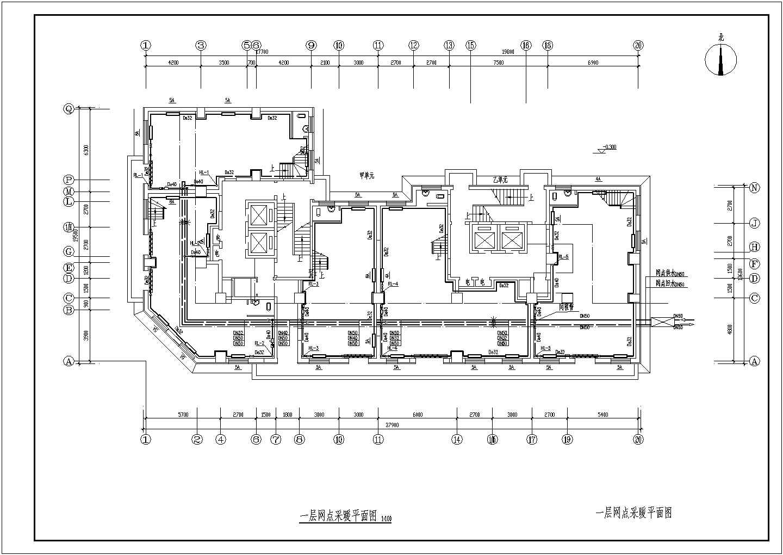 吉林某15056�O小区二十五层商住楼采暖通风图图片3