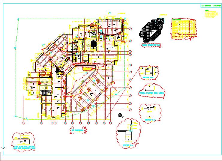 香港某高层混凝土剪力墙结构全图(全英文版)图片1
