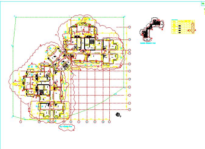 香港某高层混凝土剪力墙结构全图(全英文版)图片2