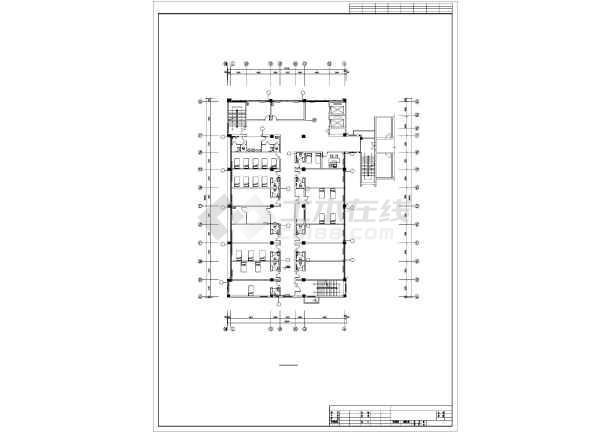 点击查看某4505㎡五层医院综合影像楼暖通施工图第1张大图