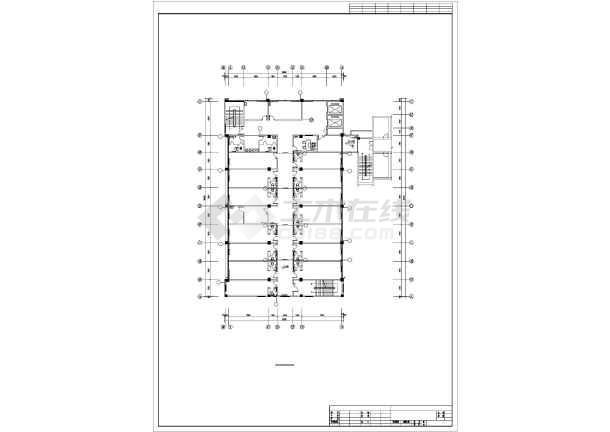 某4505㎡五层医院综合影像楼暖通施工图-图1