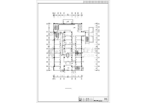 某4505㎡五层医院综合影像楼暖通施工图-图2