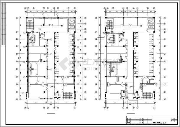 某4505㎡五层医院综合影像楼暖通施工图-图3