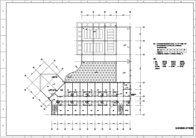 湖南某电厂综合办公楼给排水图图片3