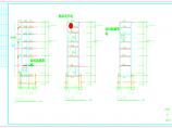 原建筑外加电梯结构施工图(框架结构,共8张)图片1