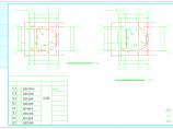 原建筑外加电梯结构施工图(框架结构,共8张)图片3