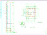 原建筑外加电梯结构施工图(框架结构,共8张)图片2