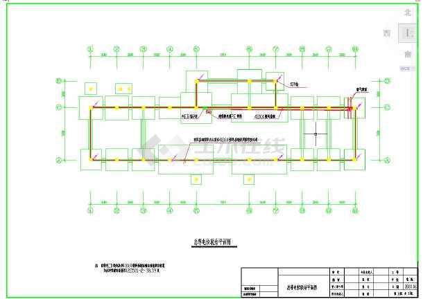 点击查看某派出所办公楼电气全套施工图纸第2张大图