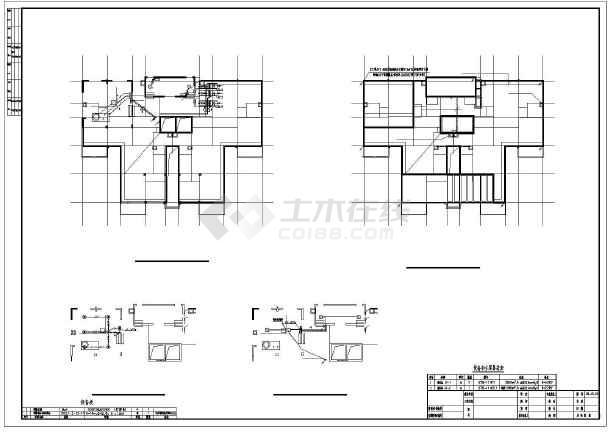 点击查看某8986㎡二十三层商住楼电气施工图纸(含车库)第1张大图