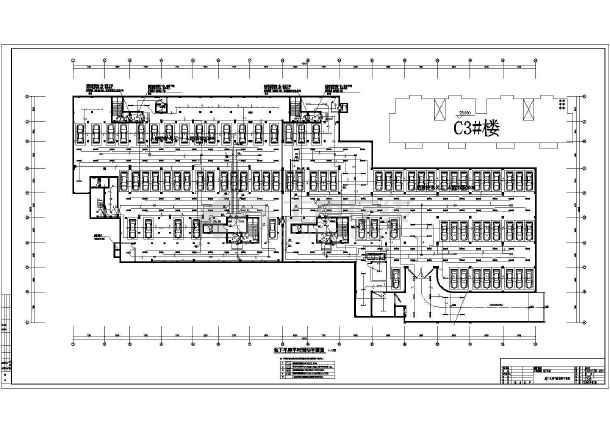安徽某单层地下车库电气施工图(二级负荷)-图2