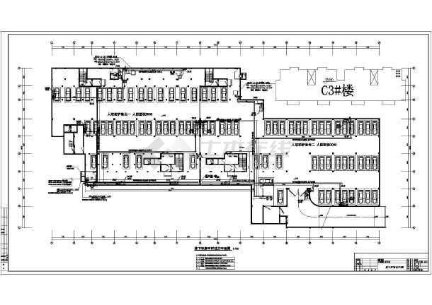 安徽某单层地下车库电气施工图(二级负荷)-图3