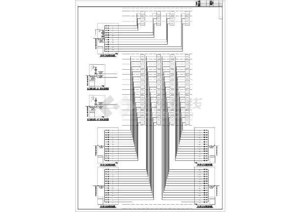 点击查看某地上十七层住宅楼电气施工图纸(含车库,二级负荷)第2张大图
