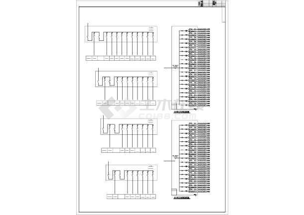某地上十七层住宅楼电气施工图纸(含车库,二级负荷)-图3