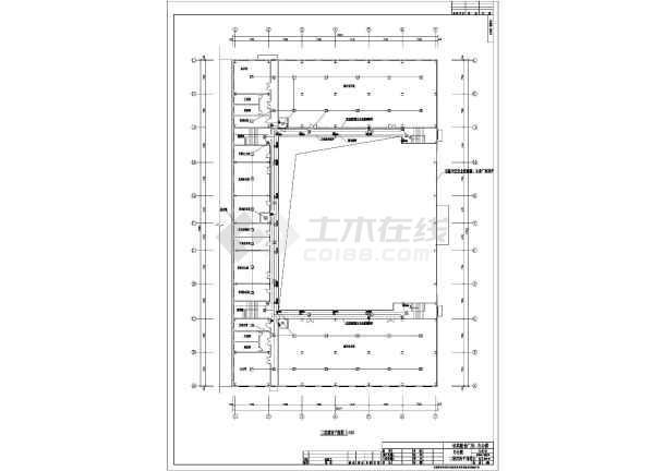 某地上三层办公楼电气施工图(三级负荷,第三类防雷)-图1