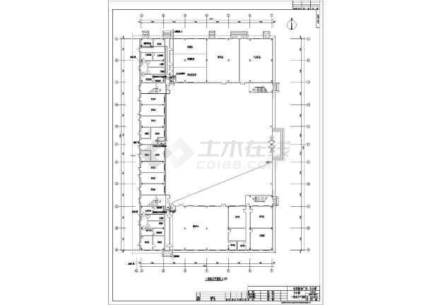 某地上三层办公楼电气施工图(三级负荷,第三类防雷)-图3