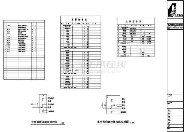 点击查看深圳某4500㎡地上五层综合楼全套电气施工图第1张大图