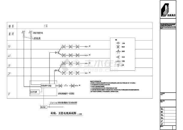 深圳某4500㎡地上五层综合楼全套电气施工图-图1